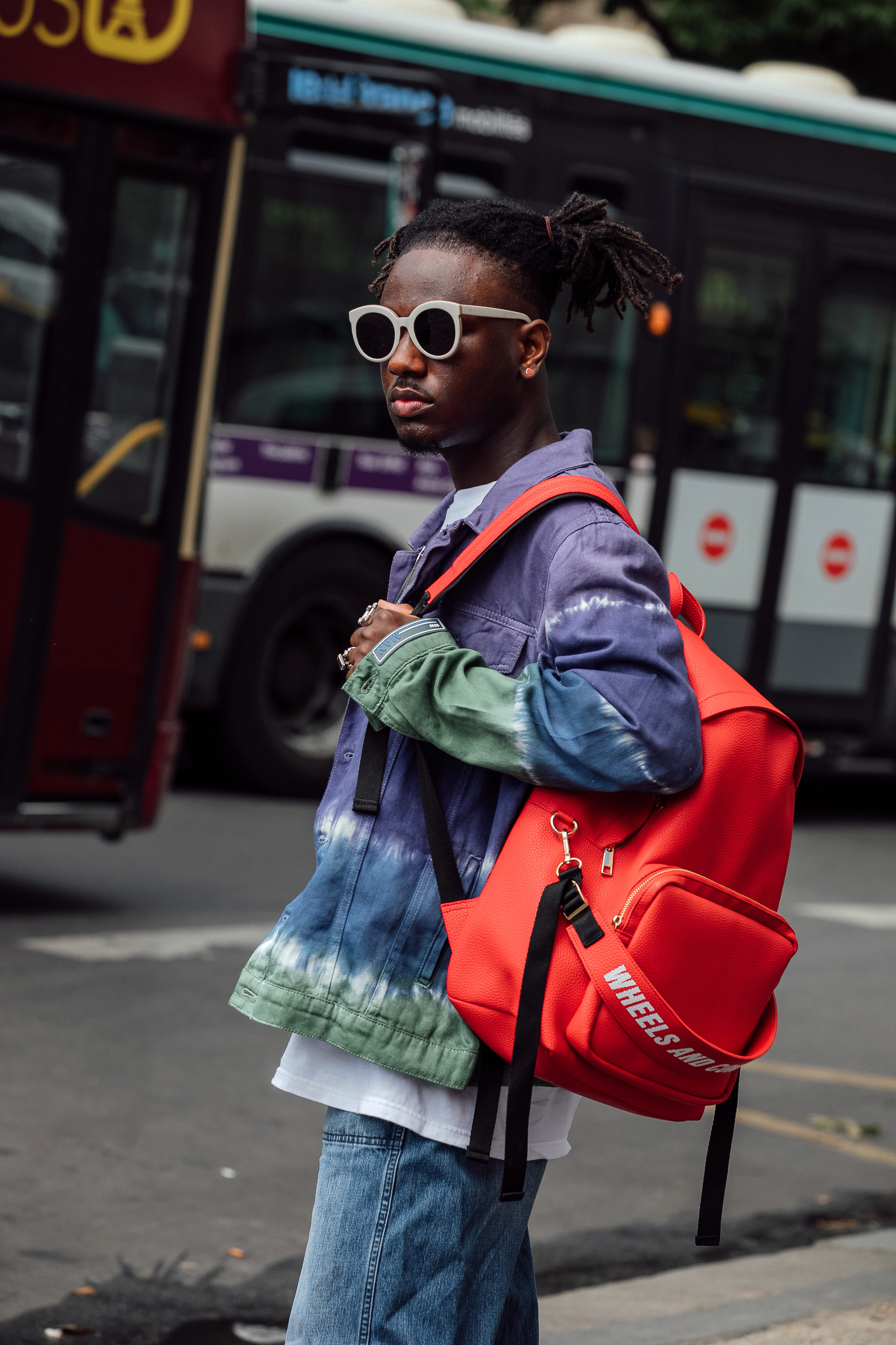 2019 Milano Pitti Uomo_WHEELS&CONTAINER BACKPACK RED